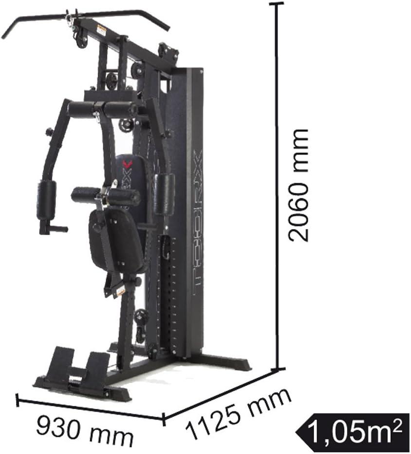 Multiestaci/ón pilas de pesas 70 kg MSX-60
