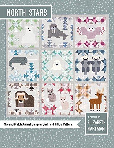 Elizabeth Hartman EH043 North Stars Pattern