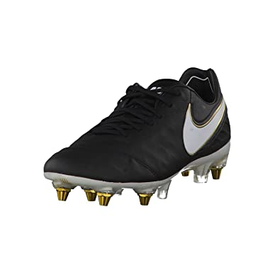 the best attitude 79e59 57d95 Nike Tiempo Legend VI SG-Pro, Chaussures de Foot Homme, NoirBlanc
