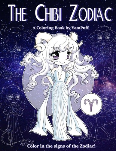 The Chibi Zodiac: A Kawaii Coloring Book by YamPuff featuring the Astrological Star Signs as - Vellum Stars