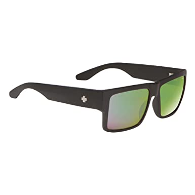 a1d1ad73de6f0 Amazon.com  Spy Optic Men Cyrus Matte Black Polarized Rectangular ...