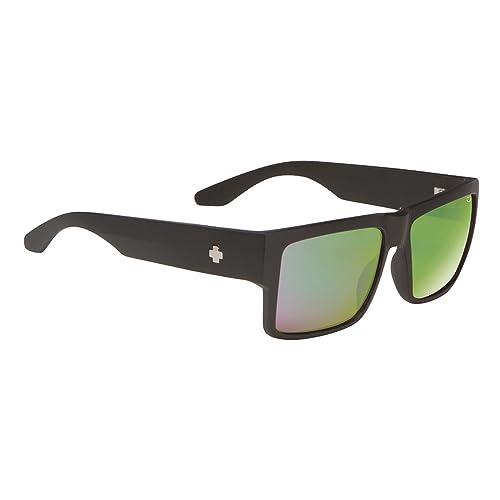 3c8bba5d50 Spy Optics Cyrus Matte Rectangular Polarized Sunglasses
