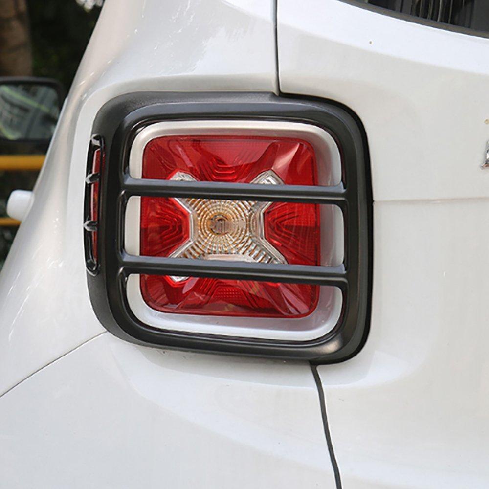 i-Shop para faros traseros Juego de 4 protectores de luz trasera met/álicos