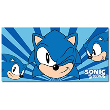 Sonic The Hedgehog toallas de Sonic