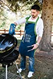 Asleep at The Reel Mens and Womes BBQ Aprons by