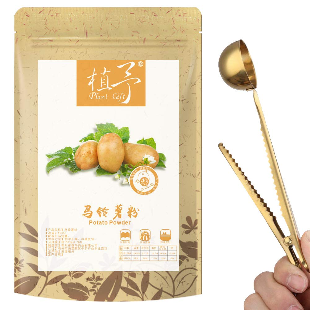 100% Pure Natural Plant Potato Powder Face Film Materials, Meal Powder Skin Care 100G Whitening, Freckle, Sunscreen Inflammatory