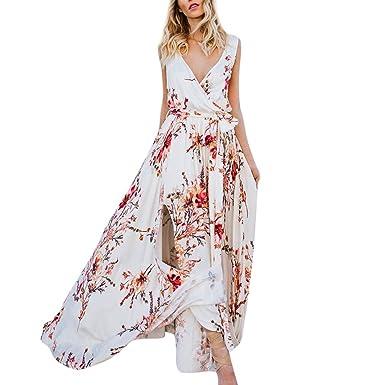 meilleur site web 6f7fe c1f2f ❤️Meilleure Vente Femme Élégant Robe Longue Bohême Fleur ...