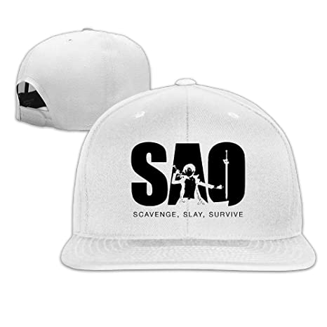 Sword Art Online Anime Flat Bill Hats Panel Hat  Amazon.ca  Clothing    Accessories 56fd9b7b56e