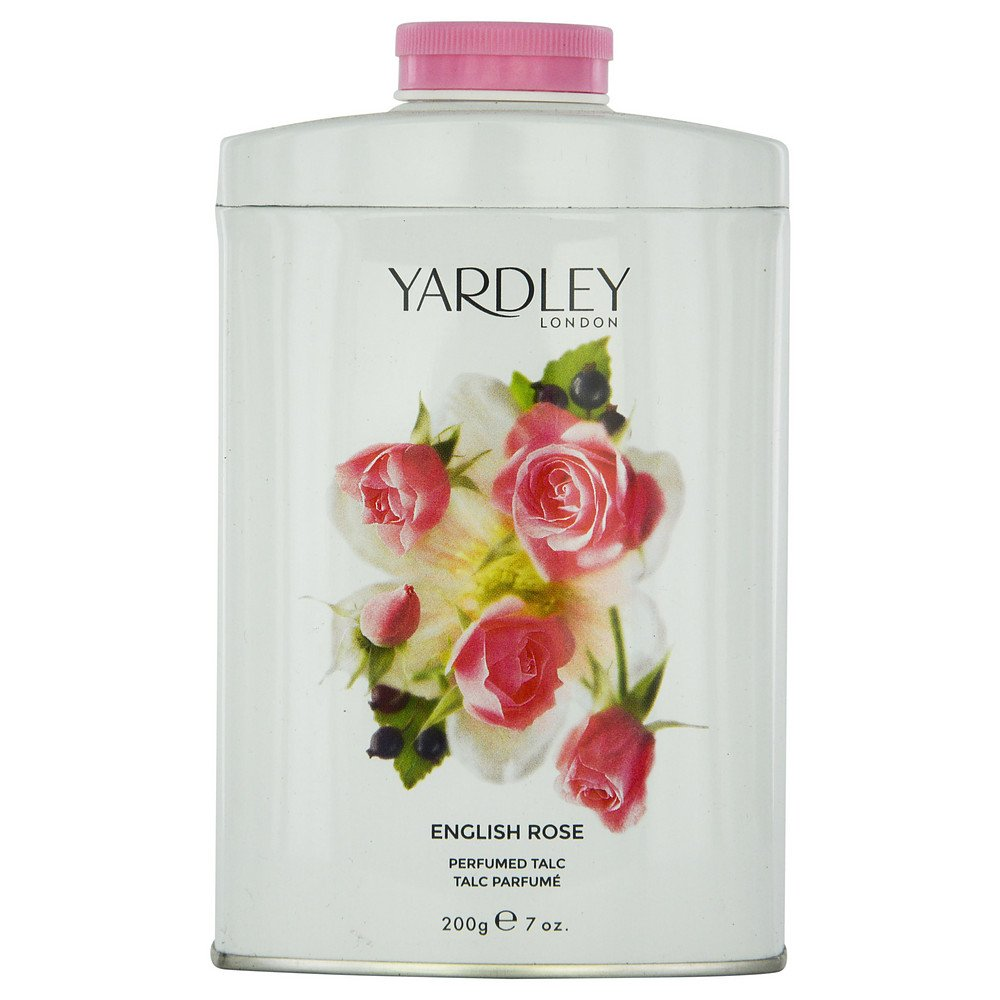 YARDLEY by Yardley ENGLISH ROSE TALC 7 OZ (NEW PACKAGING) for WOMEN ---(Package Of 6)