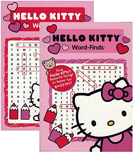 Hello Kitty Word Finds Puzzle Book 48 pcs sku# 1902475MA