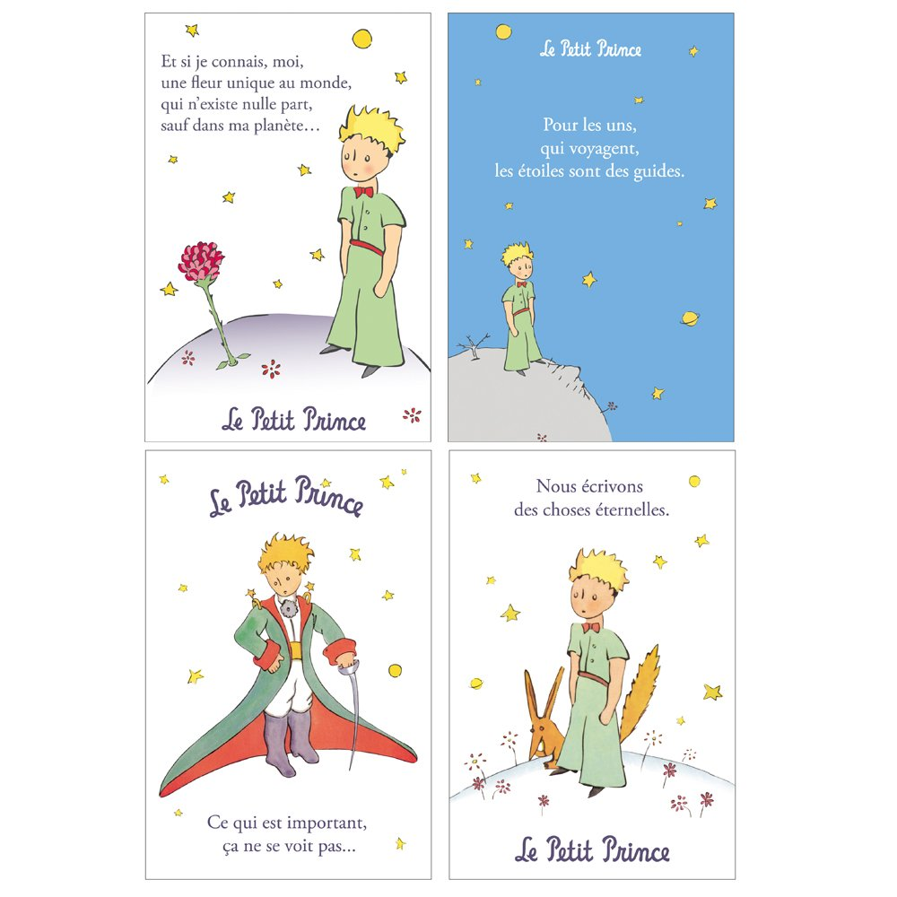 The Little Prince Greeting Cards In Support Of The Ordre De Malte
