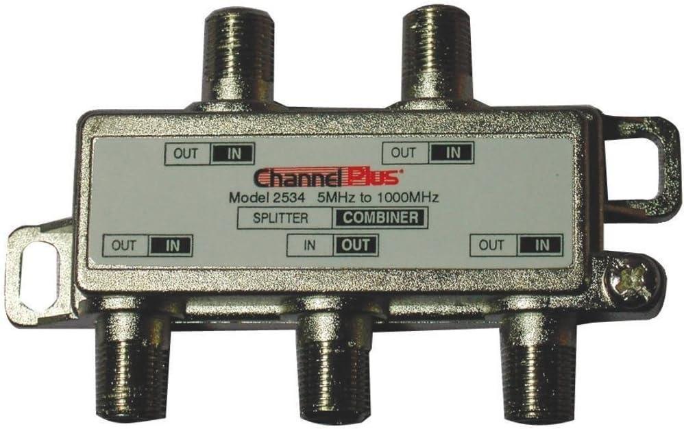 JAYBRAKE Channel Plus 2534 Splitters//Combiners 4-Way