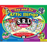 """Say and Do Artic Bingo Sound Game """"S, R, L Blends"""" - Super Duper Educational Learning Toy for Kids"""
