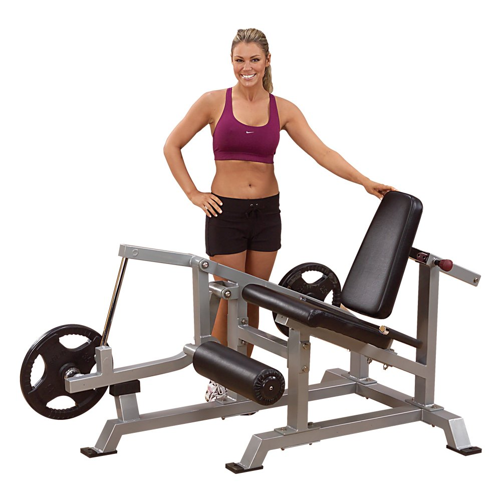 Amazon.com : Body-Solid LVLE Leverage Leg Extension : Leg Exercise ...