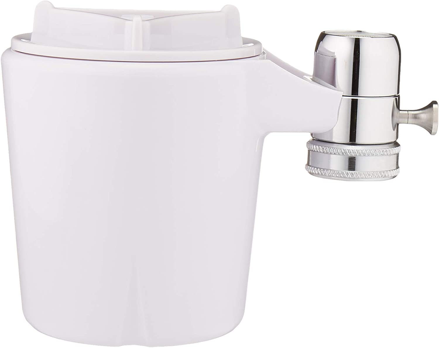 Basics AMZN-FM-15A Advanced Water Filtration White Finish Faucet Mount Filter Equivalent To Culligan FM-15A
