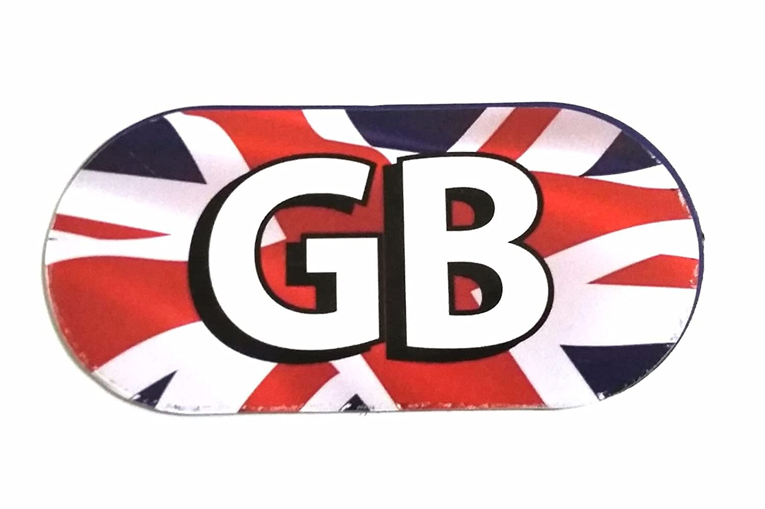 Union Jack Magnetic GB Vehicle Plate Travel Driving Abroad Legally Required