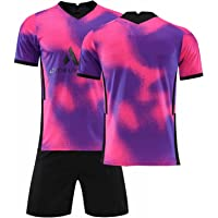 Unisex voetbalshirts voor heren/dames/kinderen Set 7# Mbappé 7# Neymar Jordan Point of View2020/21 Home Player Jersey…