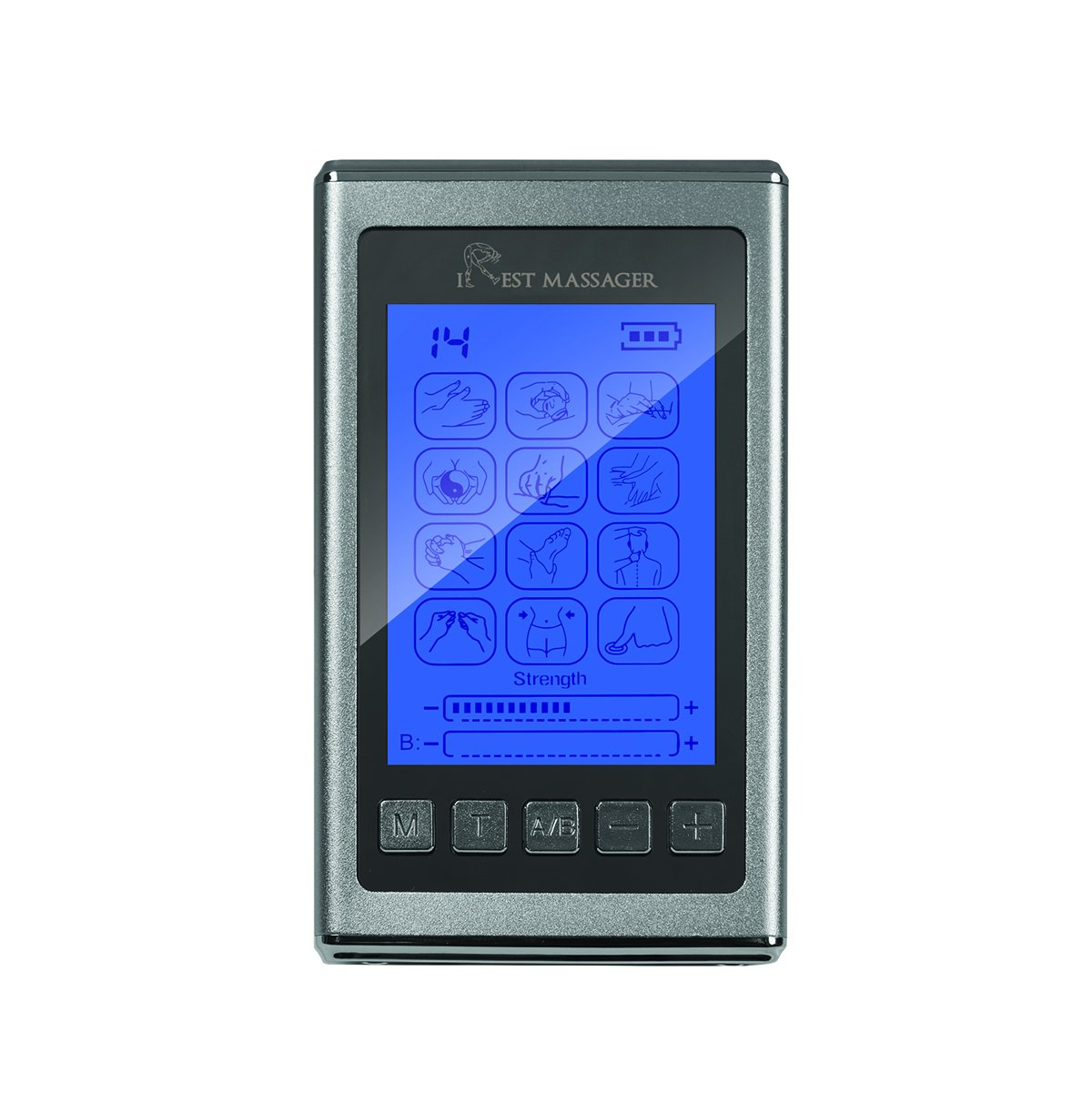 Amazon.com: Tens EMS unidad Pro S estimulador muscular 12 ...