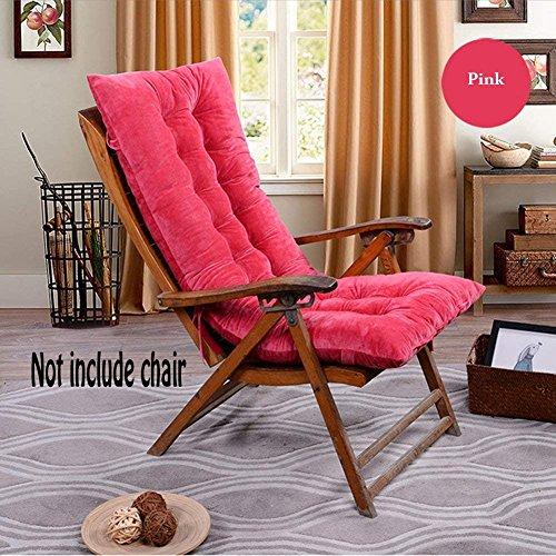 Chengyu High Back Chaise Lounge Cushion Non Slip Rocking