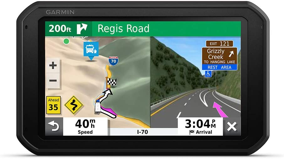 "Garmin RV 785 & Traffic, Advanced GPS Navigator for RVs with Built-in Dash Cam, High-res 7"" Touch Display, Voice-Activated Navigation"
