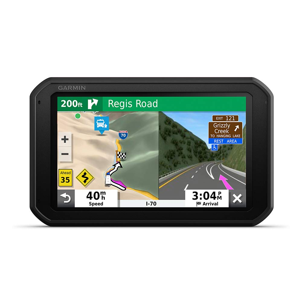 Garmin RV 785 & Traffic, Advanced GPS Navigator for RVs with Built-in Dash Cam, High-res 7'' Touch Display, Voice-Activated Navigation by Garmin