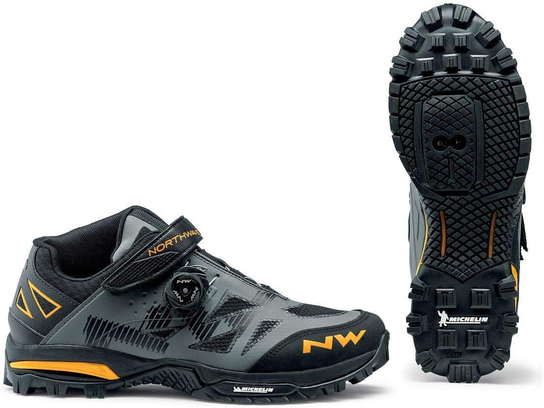 Northwave Enduro Mid MTB Fahrrad Schuhe grau//gelb 2020