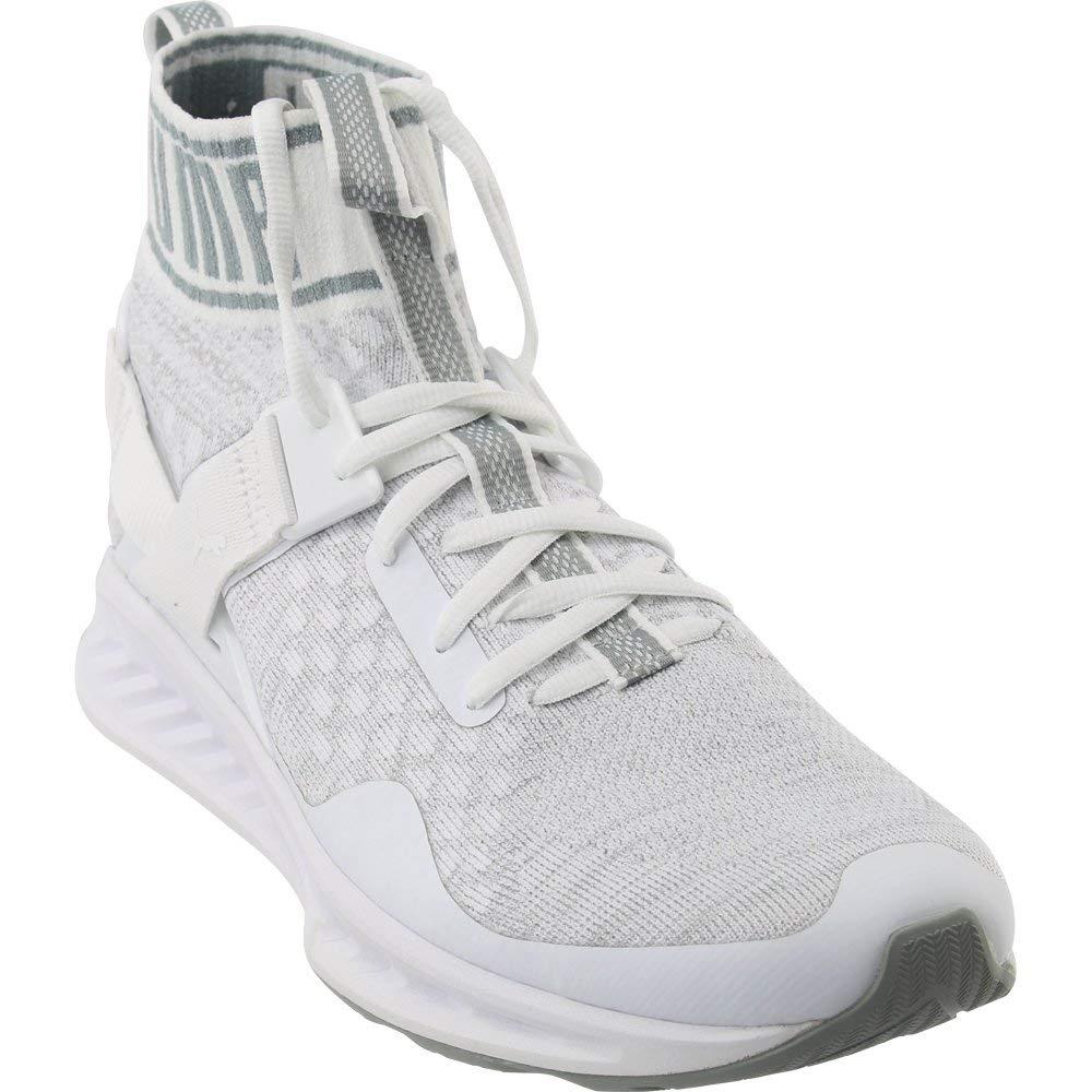 30f51d0e7917 Galleon - PUMA Men s Ignite Evoknit Cross-Trainer Shoe  White Quarry Vaporous Gray