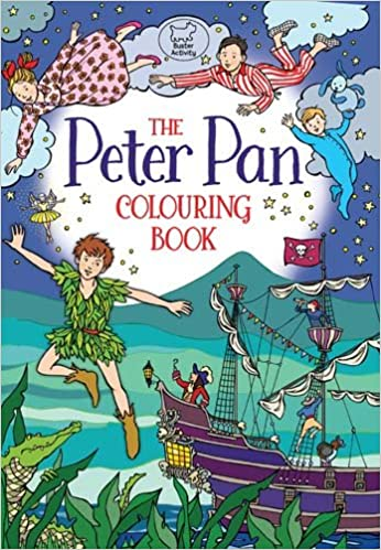 The Peter Pan Colouring Book: Ann Kronheimer: 9781780554358: Amazon ...