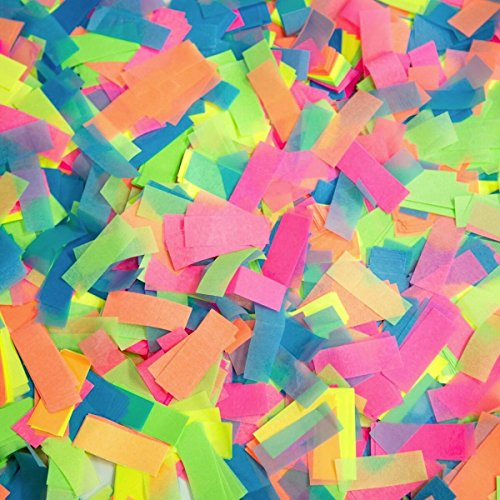 UV Blacklight Mixed Confetti