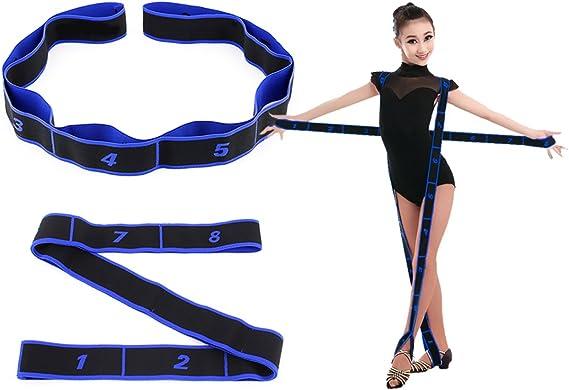 Yoga Elastic Pull Strap Pilates Exercise Dance Resistance Band Equipment ⚽