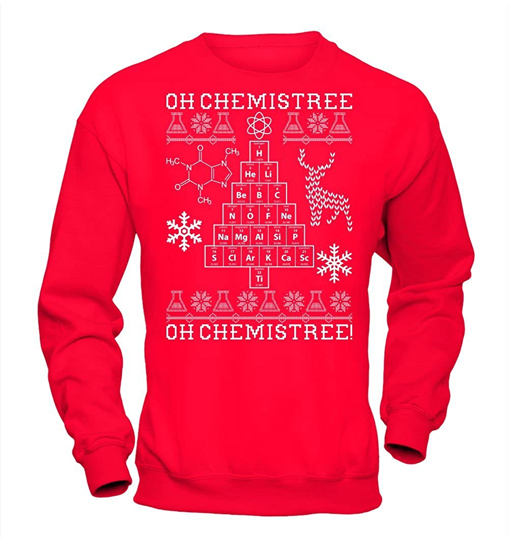 Oh Chemistree, Oh Chemistree! Ugly Christmas Chemistry Sweatshirt FB-1458-24