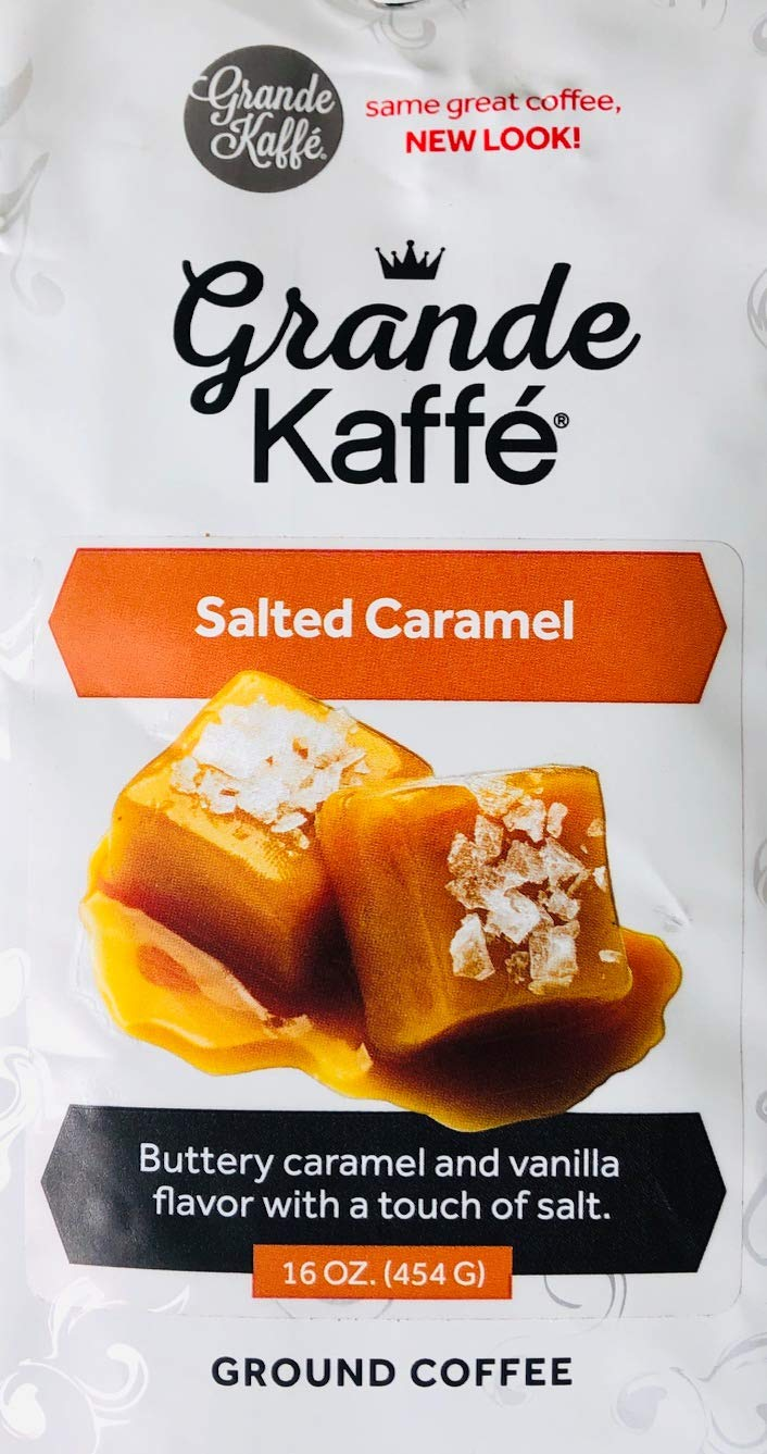 Grande Kaffe Ground Coffee (Classic Salted Caramel)