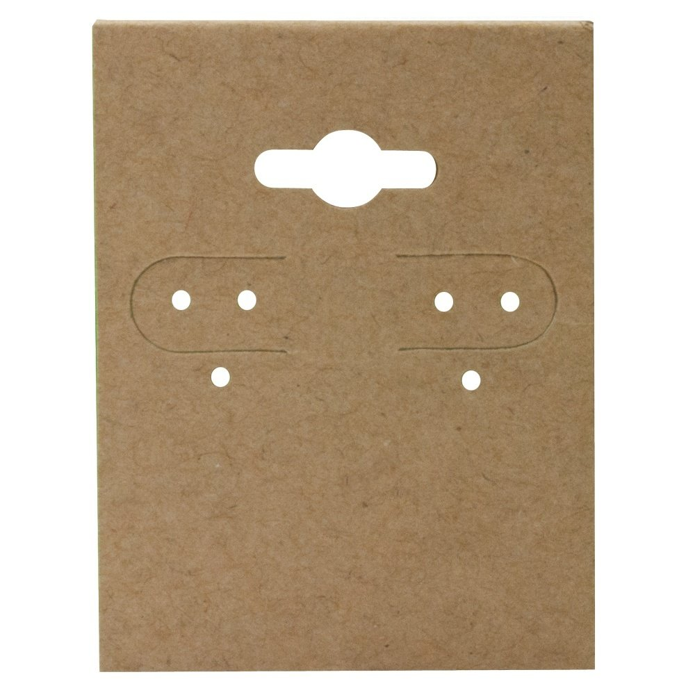 Kraft Jewelry Earring Display Cards 2