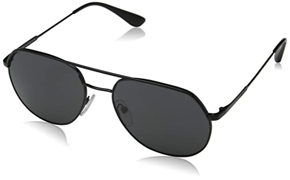 d4b9633eeaad2 Amazon.com  Prada Men s 0PR 55US Sunglasses