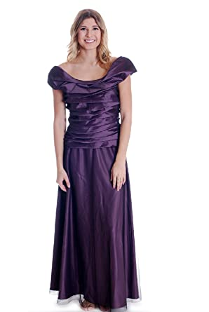 Km Collections Women S Off The Shoulder Ball Gown In