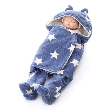 Manta infantil Bebe invierno Saco de dormir bebé recién nacido ...