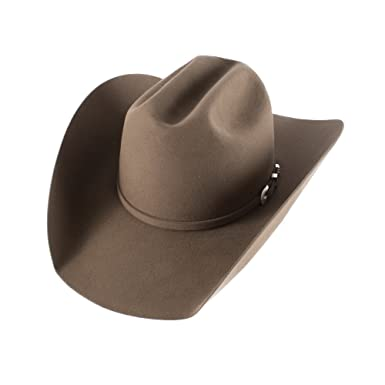 53c493cc0550cd Rods American Hat Company Pecan Lucky 7X at Amazon Men's Clothing store: