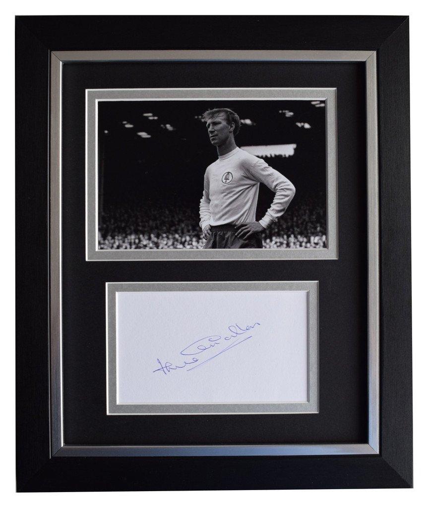 Sportagraphs Jack Charlton SIGNED 10x8 FRAMED Photo Autograph Display Leeds Utd Football COA PERFECT GIFT