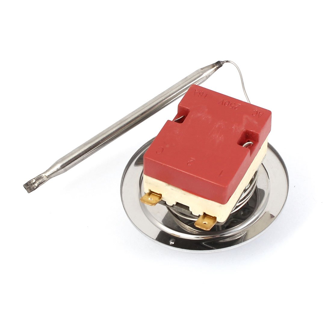 uxcell NC Adjustable Temperature Control Switch Thermostat 30-85 Degree Celsius US-SA-AJD-215617