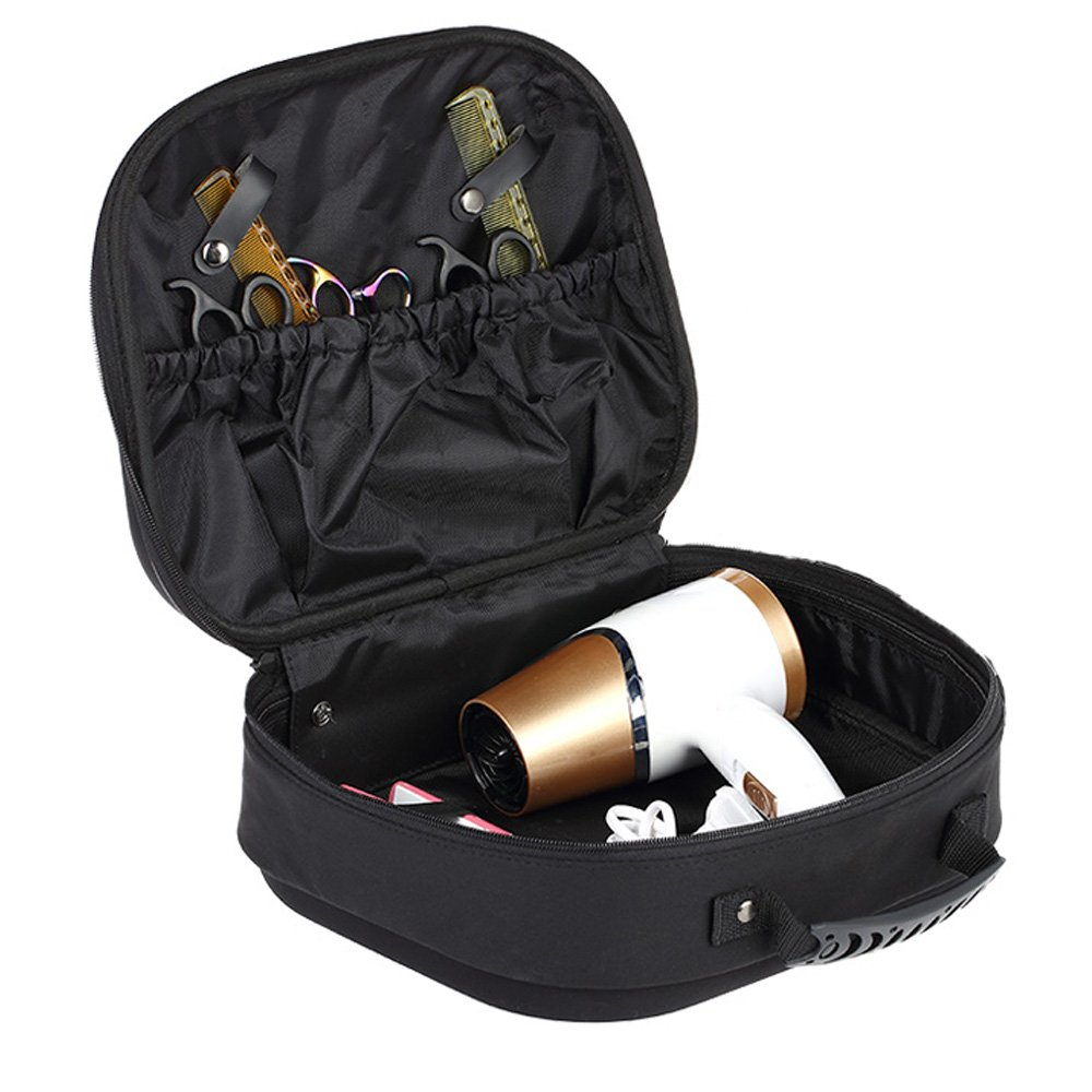 Anself Hairdressing Bag Salon Scissor Bag Hair Styling Case Hairdressing Tool Carry Bag Portable
