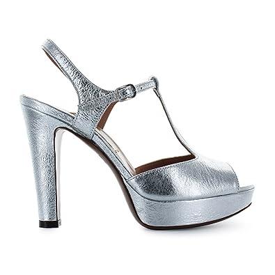 Chose Avec L'autre Femme Sandale Argenté Plateau Chaussures qSUpzGLMV