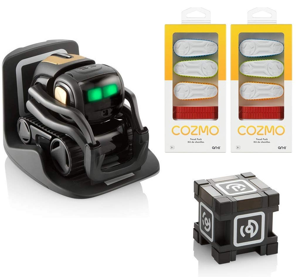 Anki Vector Robot, A Home Robot Who Hangs Out & Helps Out, with Amazon  Alexa Built in with Bonus Treads Vector+20 Treads