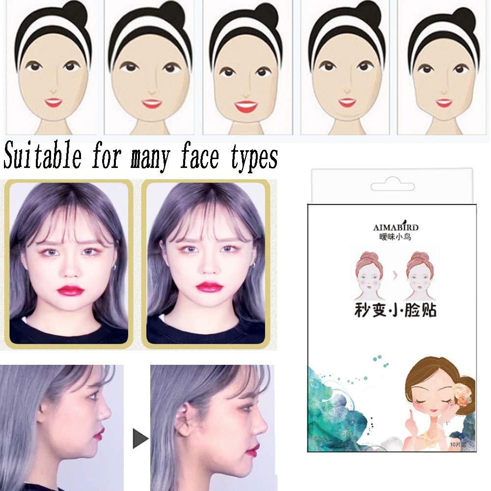 50pcs/set Face Sticker Thin Face Stick Face Invisible Sticker Lift Tools Makeup by Sannysis (Image #6)