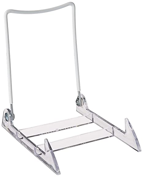 Gibson Holders Large Display Stand Clear BaseWhite Wire Amazonco Cool Wire Display Stands Uk