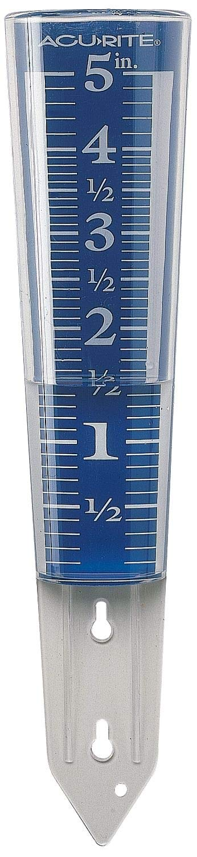 Rain Gauge, Magnifying, 12-1/2 in. H - 3KLT2, (Pack of 2)