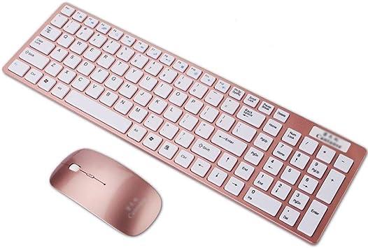 Pack de teclado y ratón inalámbricos Juego de teclado y mouse ...