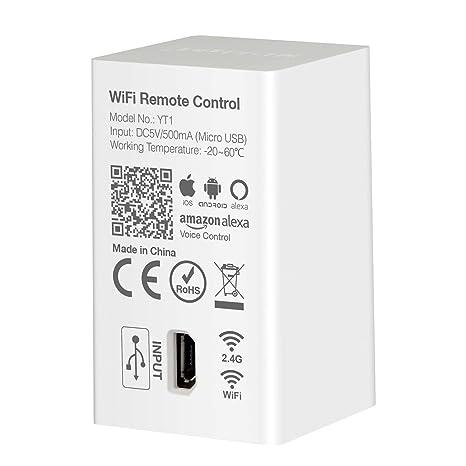 LIGHTEU®, Milight WiFi Led Controller Wireless RF2 4GHz Amazon Echo Alexa  Voice Control, WiFi Wireless Control and Smartphone APP Control Compatible