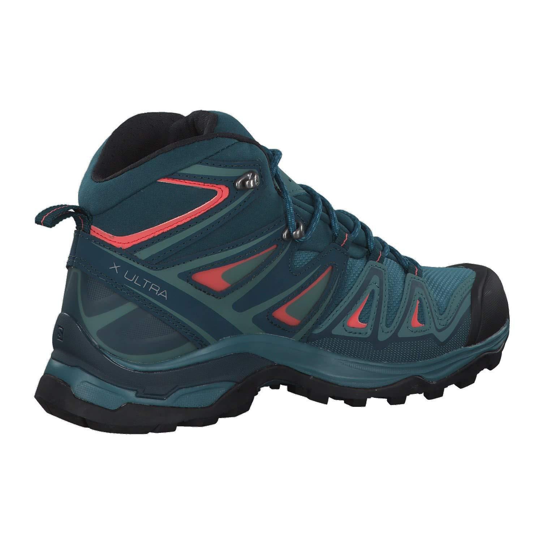 eb9db7e692b Salomon Women's X Ultra 3 MID GTX High Rise Hiking Boots, Blau (Hydro-Reflecting  Pond-Dubarry 000), 4 3.5 UK: Amazon.co.uk: Shoes & Bags