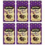 Harry Potter Bertie Botts Every Flavor Beans, 1.2oz boxes ~ 6 Pack by Jelly Belly [Foods]