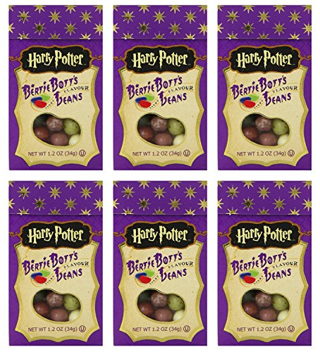 Harry Potter Bertie Botts Every Flavor Beans, 1.2oz boxes ~